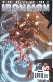Invincible Iron Man #1 Cover A Larocca (2008) Marvel comic book